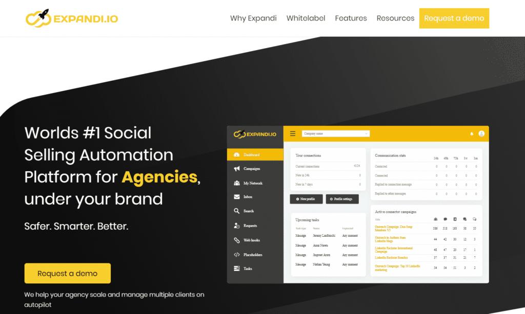 expandi whitelabel solution for agencies